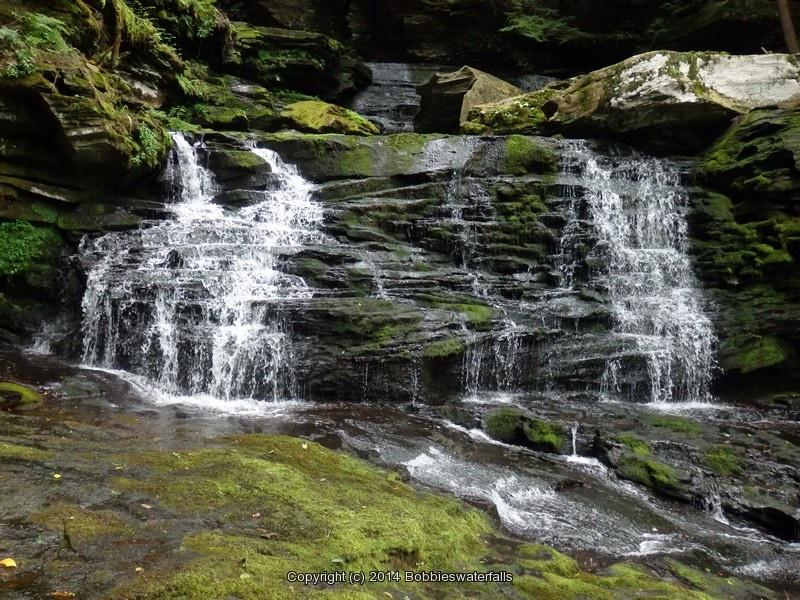 Updated Waterfall Locations in Sullivan County New York 2-22